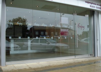 Frameless Shopfront 6
